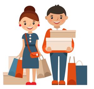 Shoping at Net Computer Depok