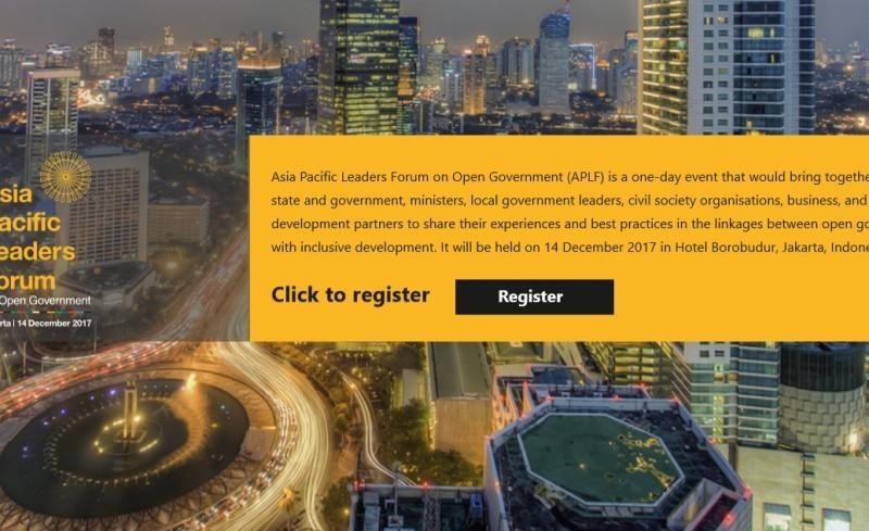 Registration System For APLF 2017