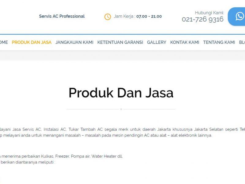 Pembuatan Website Asoka Technic