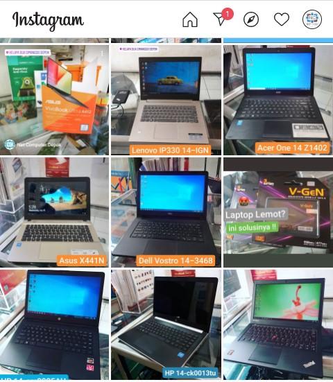 Instagram Net Computer Depok