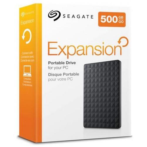 Jual HDD external Seagate 500GB