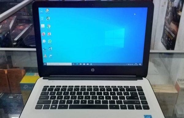 Terjual Laptop HP 14 Intel Celeron N3050 4GB