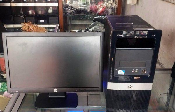 Paket Komputer HP Dual-Core Lengkap Siap Pakai